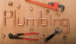 PLumbing wrenches and cooper plumbing  joints